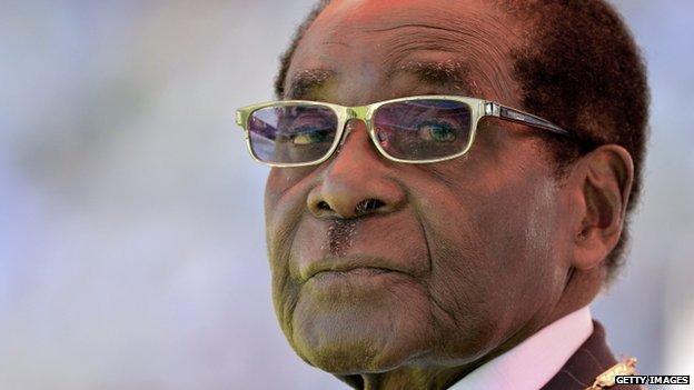 President Mugabe has governed Zimbabwe since independence in 1980