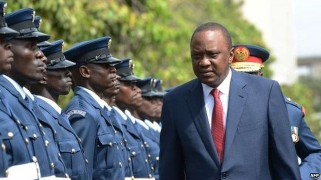 President Kenyatta has given investigators 60 days to report on the allegations