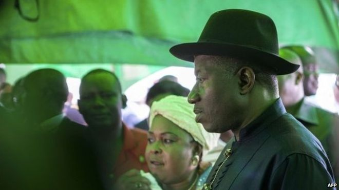 Goodluck Jonathan is the first Nigerian sitting president to lose an election