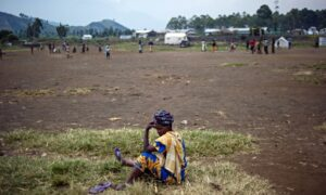 'The UN has labelled Congo the rape capital of the world.' Photograph: Phil Moore/AFP/Getty Images