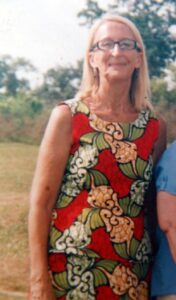 This undated photo shows American Phyllis Sortor, a missionary with the Free Methodist Church, who was kidnapped by gunmen in Emiworo village, Nigeria (AFP Photo/)
