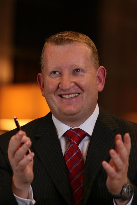 Patrick Fitzgibbon, senior vice president of development, Europe and Africa, for Hilton Worldwide