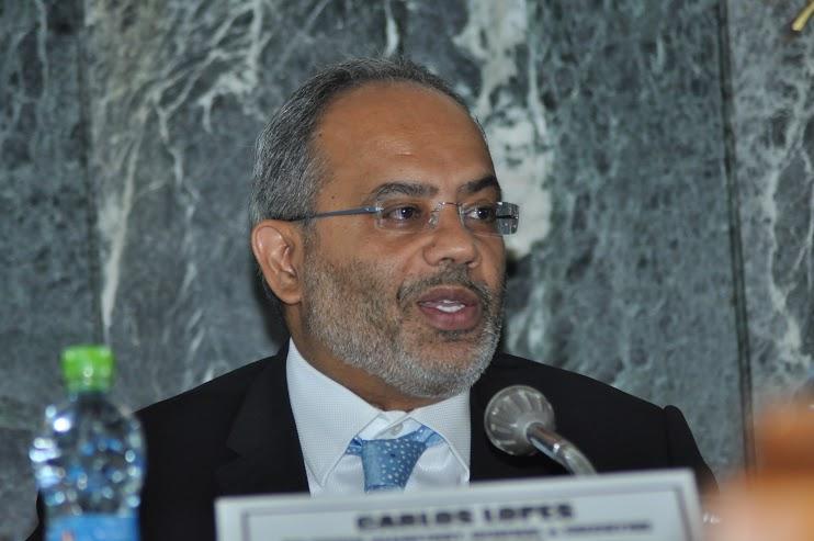 Mr.Carlos Lopes, Executive Secretary, ECA, addressing delegates at the CoM2015 at Addis Ababa