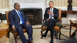 Obama Meets With Djibouti President in 2014
