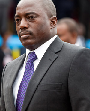 Democratic Republic of Congo Present Joseph Kabila. (AFP, File)