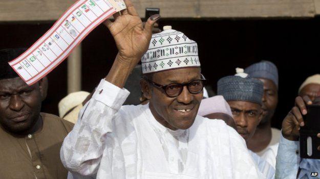 "Muhammadu Buhari: ""The victory is yours"""