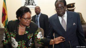 Joice Mujuru and President Mugabe were once close allies