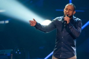 "Mitchell Brunings performs during the semifinal of ""The Voice of Holland"" in 2013. Getty Images"