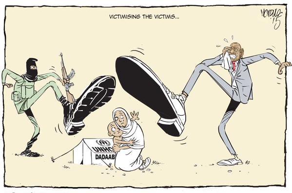 EDITORIAL CARTOON: The anti #refugees sentiments are fuelled by ignorance #Dadaab @UNHCR_Kenya via @ndula_victor