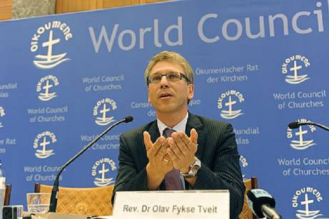 Rev. Dr Olav Fykse Tveit, general secretary of the WCC