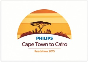 Philips' Cape Town to Cairo roadshow