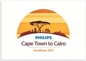 Philips' Cape Town to Cairo roadshow