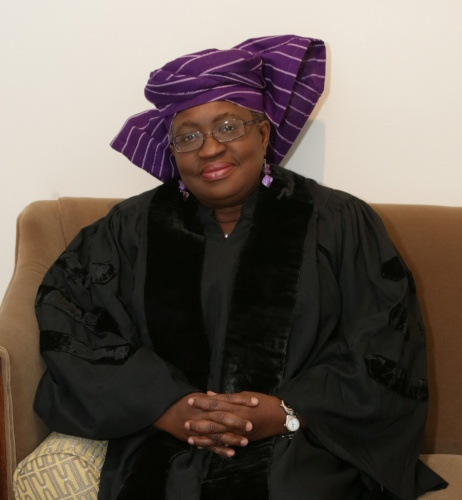 Yale Honours Okonjo-Iweala with an Honorary Doctorate Degree