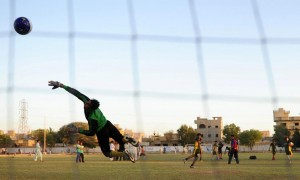 More often than not, the hopes of young Africans of becoming professional footballers in the richest leagues in the world turn to bitter disappointment  (AFP Photo/Asif Hassan)