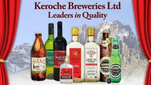 Keroche makes a range of products, which it sells via its own network of distributors