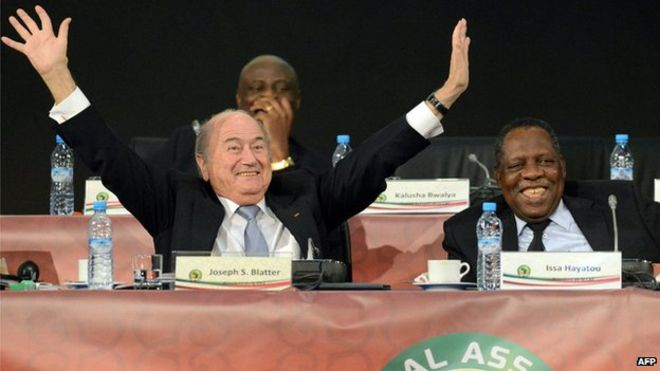 Sepp Blatter has previously been able to count on African delegates' votes