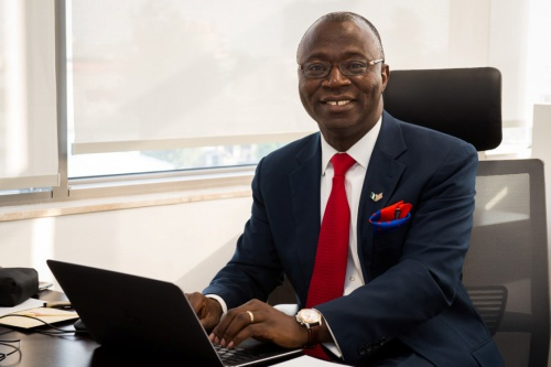 The President and CEO of General Electric Nigeria Dr Lazarus Angbazo