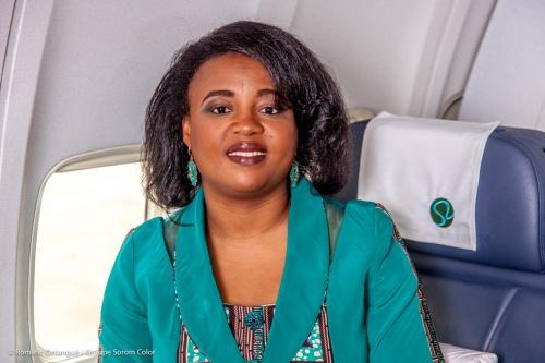 Fatima Beyina-Moussa, Directeur général d'ECAir (Equatorial Congo Airlines)