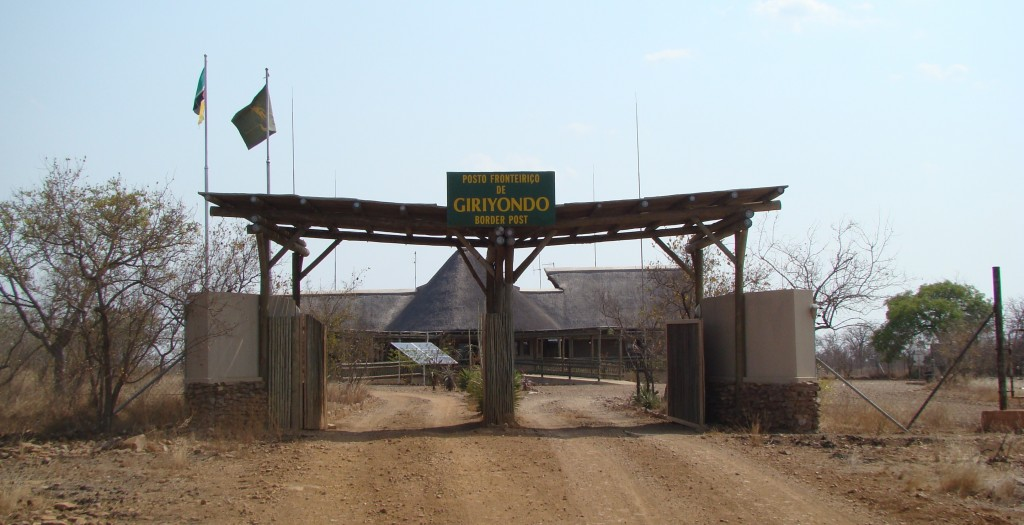 Giriyondo Border Post South Africa Mozambique