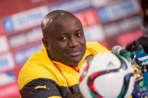 """Cameroon women's football coach Enow Ngachu said it was """"a bad day"""" for his side as they exited the World Cup in Canada (AFP Photo/Geoff Robins)"""