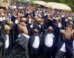 Common Lawyers at a recent meeting in Bamenda