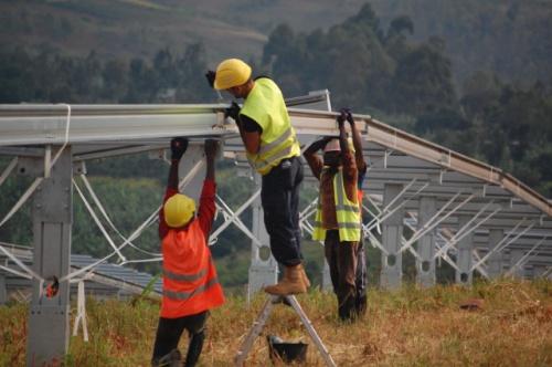 Power plant construction Rwanda