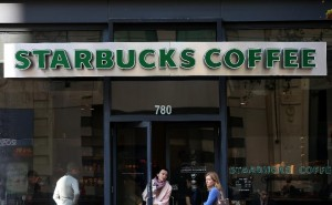 Starbucks has more than 22,000 Starbucks cafes worldwide but its only African branches are in Egypt and Morocco (AFP Photo/Justin Sullivan)