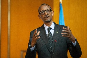 Rwandan lawmakers begin a national tour consulting people on possible constitutional changes to allow strongman Paul Kagame, pictured, a third term in power (AFP Photo/Zacharias Abubeker)