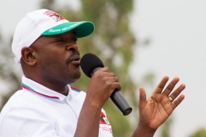 Burundian President Pierre Nkurunziza has been a divisive figure whose bid for a third term sparked months of often violent protests (AFP Photo/Landry Nshimiye)
