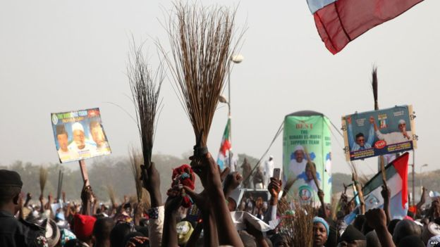 Supporters of Muhammadu Buhari expect a clean sweep and want him to bring change