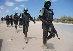 AMISOM has said the camp was manned by soldiers from Uganda, and the number feared dead matches that claimed by a Shebab spokesman (AFP Photo/Mohamed Abdiwahab)