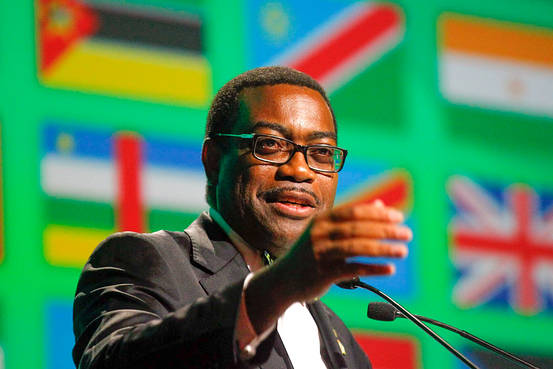 Newly-elected President of the African Development Bank Akinwumi Adesina at the closing of the African Development Bank's 50th anniversary forum in Abidjan, Ivory Coast. European Pressphoto Agency