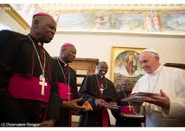 Pope Francis receives Bishops from Benin