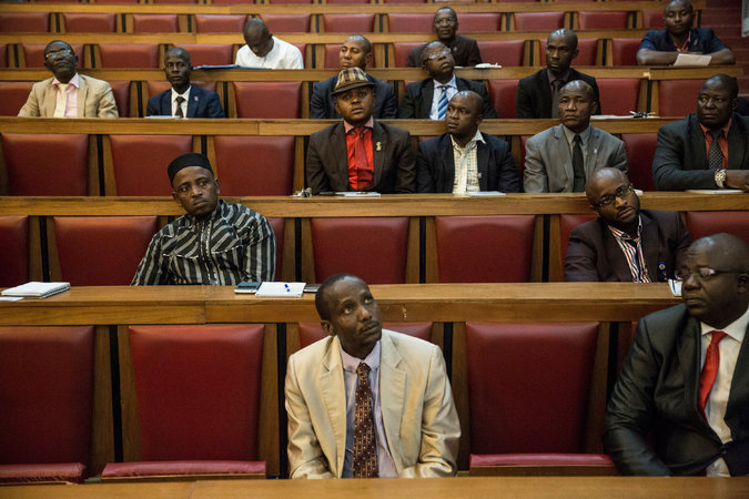 Legislators from southeast Nigeria attended an anticorruption training session on Wednesday in Abuja, the capital. Credit Glenna Gordon for The New York Times