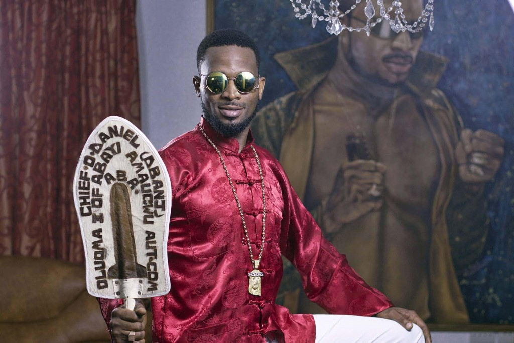 D'banj poses at his home in Lagos Photographer: Paul Odijie/Bloomberg