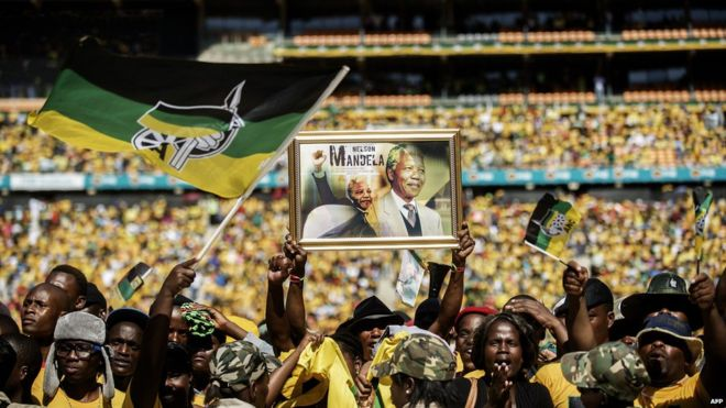 The ruling African National Congress is still held in high regard by those loyal to Nelson Mandela's legacy