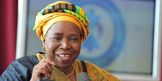 Nkosazana Clarice Dlamini-Zuma-1st Woman Chairperson of African Union Commission