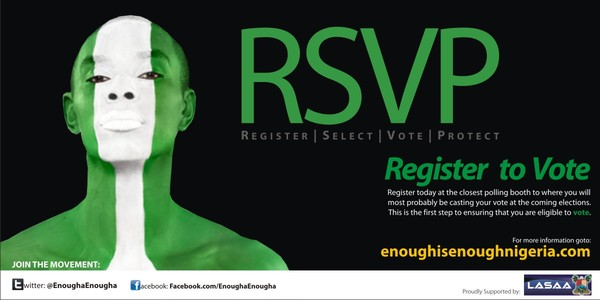 Image: Enough is Enough social movement in Nigeria