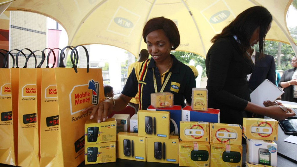 Mobile phone use has rocketed in Nigeria in the last decade but mobile money has not.(AP Photo/Sunday Alamba)