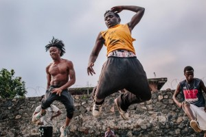 he Street Dance crew rehearses at Yole!Africa, a youth cultural center in Goma, a city in the violence ravaged eastern part of the Democratic Republic of Congo.Natalie Keyssar