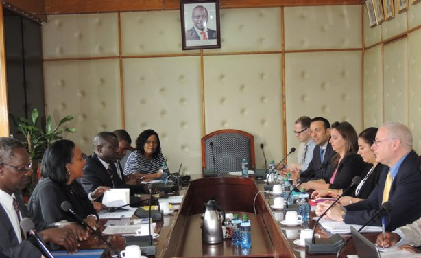 Photo: WTO-MC10 Nairobi 2015 Briefing by the Kenya Team on MC10 Preparation to WTO Delegation.