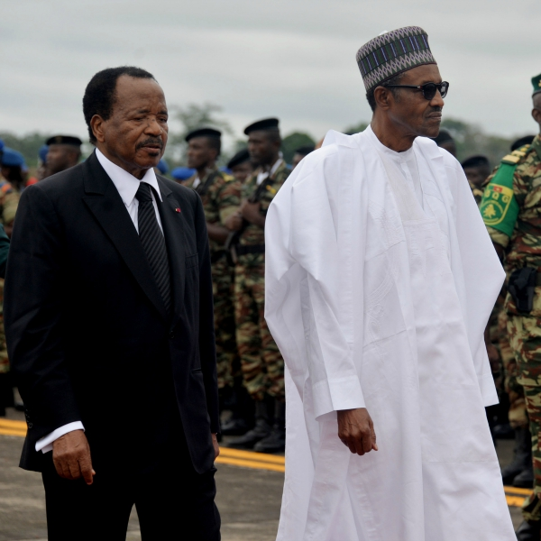 Buhari in Cameroon: Africa is looking up to leadership from Nigeria to forge ahead