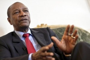 Alpha Conde was reelected for a second term in Guinea
