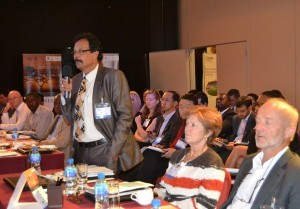 Delegates participate in an interactive dialogue at Powering Africa: Tanzania last year in Dar es Salaam