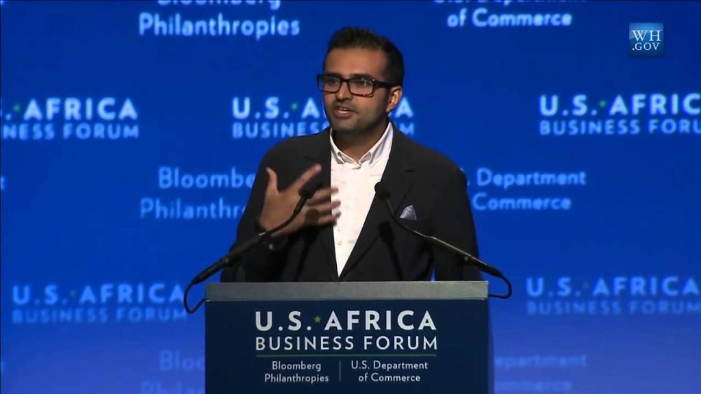 Ashish J. Thakkar speaking at a Business Forum in Washington,DC