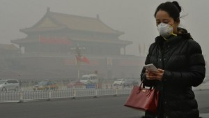 Beijing's smog is one of the downsides of rapid development
