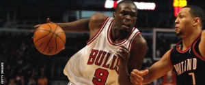Luol Deng played 10 seasons for Chicago, scoring more than 10,000 points