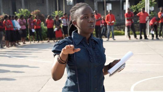 Aline Mukovi has criticised the government