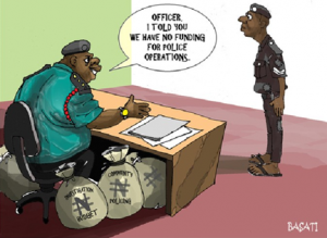 Corruption-cartoon-of-a-police-boss-by-Basati-via-Somalilandsun