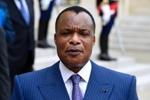 Congolese President Denis Sassou Nguesso has been in office since 1997 (AFP Photo/Dominique Faget)